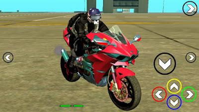 Download mod moto Kawasaki Ninja H2R para GTA SA Android