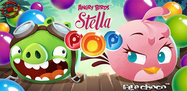 تحميل لعبة Angry Birds POP Bubble Shooter v2.27.2 مهكرة للاندرويد (اخر اصدار)
