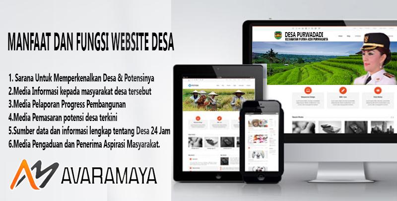 Pembuatan Website Desa Dan Instalasi Aplikasi Surat Menyurat