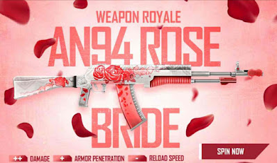 AN94 Rose Bride Redeem Code For Free