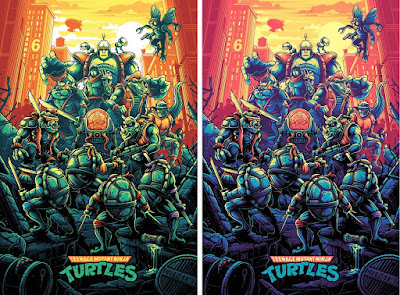 Teenage Mutant Ninja Turtles Screen Print by Dan Mumford x Bottleneck Gallery