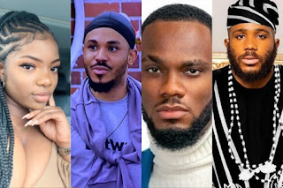 Dorathy, Kiddwaya, Prince And Ozo Nominated For Eviction