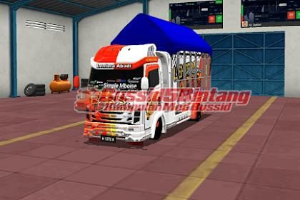 Mod Bussid Truck NMR full bodykit