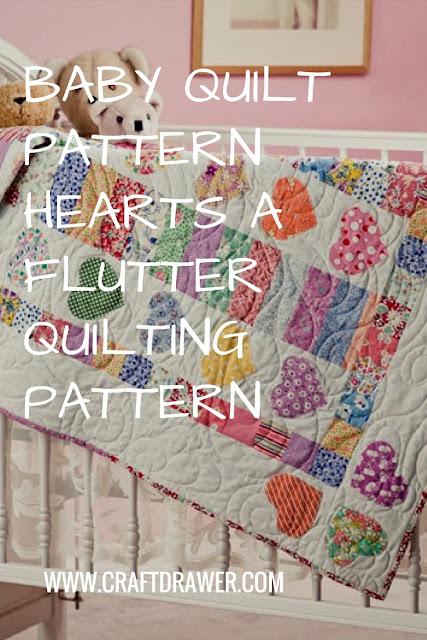 Quilt a Hearts Baby Quilting Pattern for a New Baby
