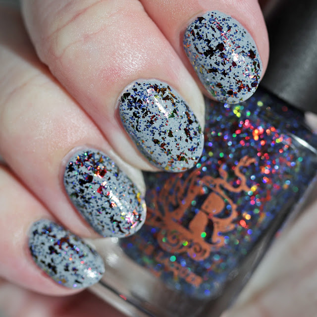 Rogue Lacquer From the Ashes We Rise over Moonflower Polish Those Who Came Before