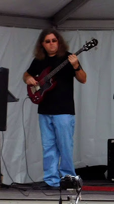 Aaron S. Robertson bass player