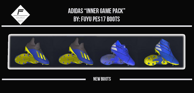 """PES 2017 """"Inner Game"""" Pack by Fuyu"""