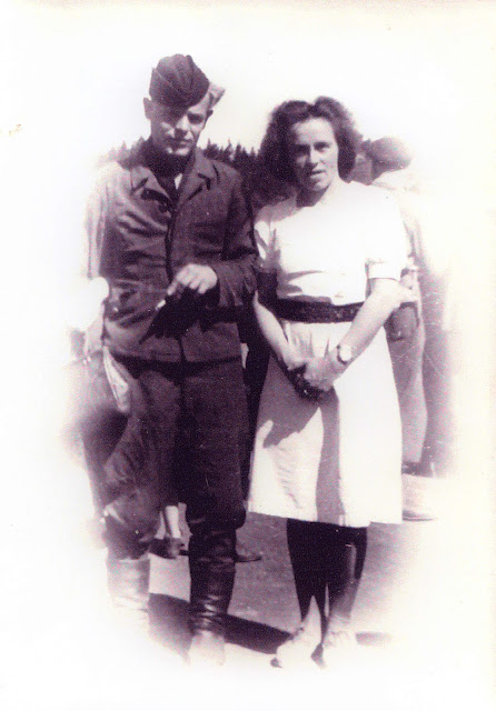Вилорик и Берит после плена в Норвегии
