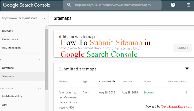 Create Sitemap And Submit In Webmaster | Submit Sitemap In New Verstion of Google Search Console