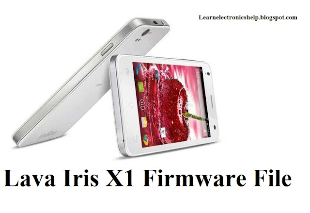Lava Iris X1 Stock Firmware Rom Official 100 % Tested and Without Password