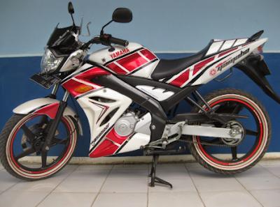 Modifikasi Motor Vixion 2011