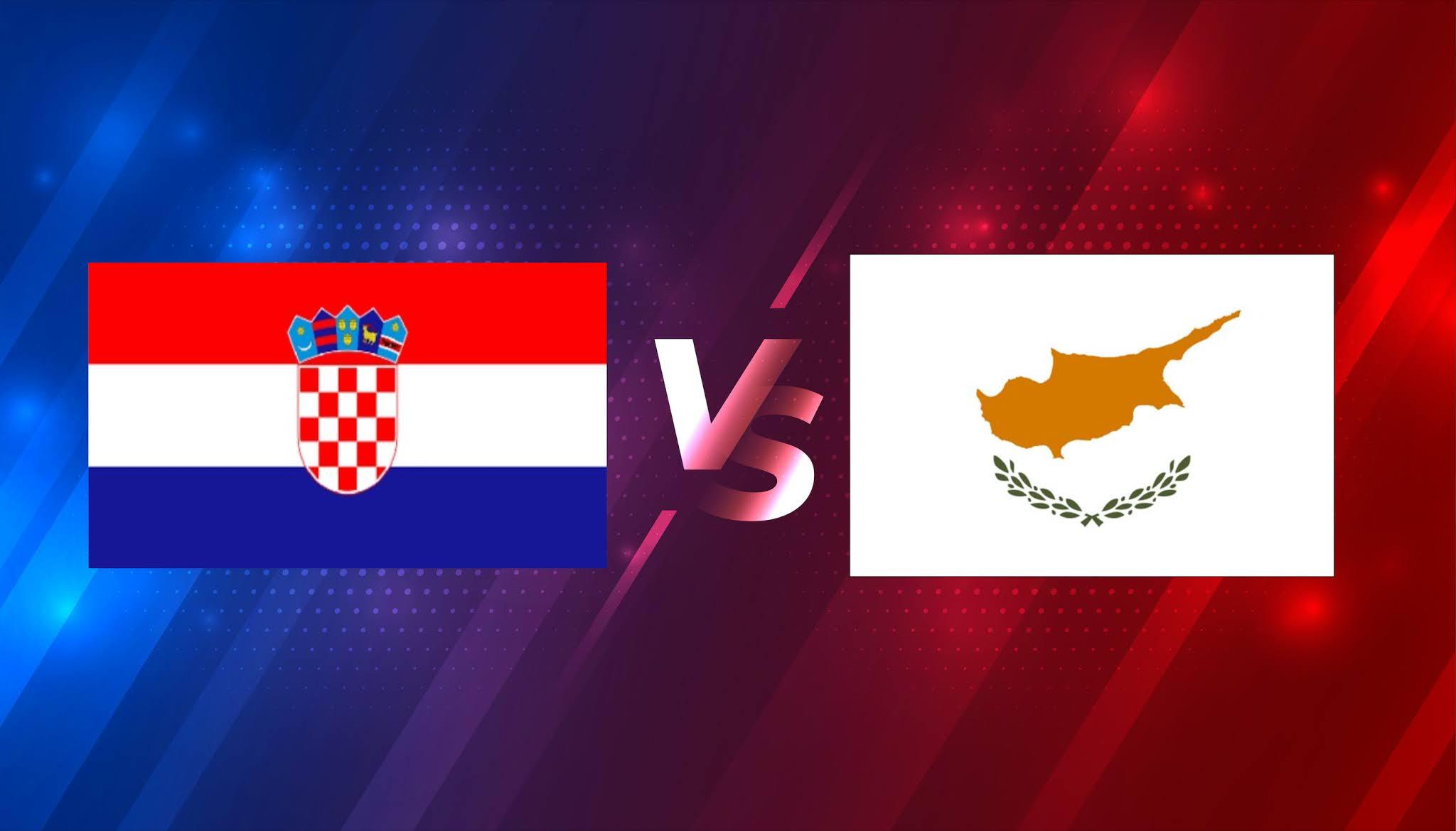 بث مباشر مباراة كرواتيا وقبرص