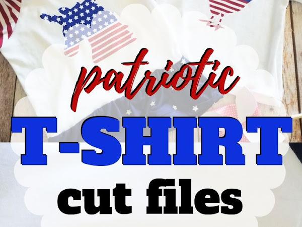 Patriotic Tshirts for Sew Americana + Free Patriotic Cut Files