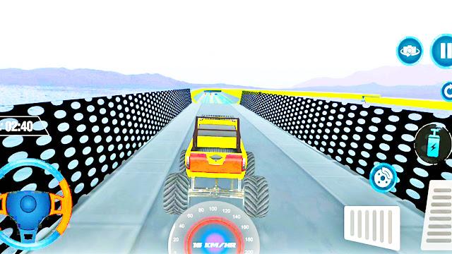 Mountain Track Monster Truck Stunt Car Racing - apk download   Monster Truck Games   APK Games