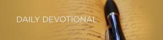 Today's Devotional (Saturday)