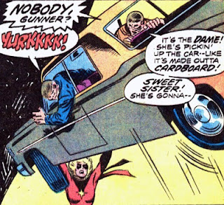 Ms Marvel #1, car lift