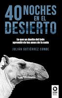 libro 40 noches en el desierto
