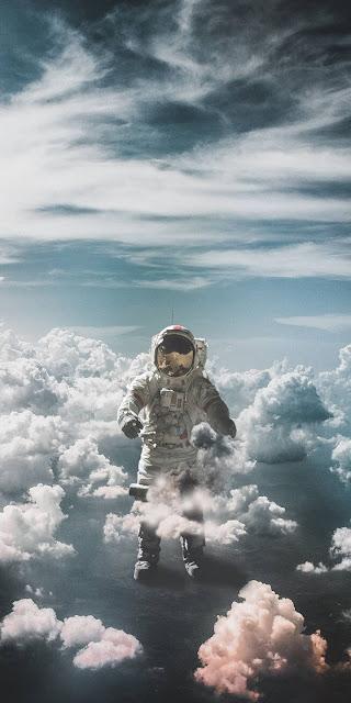 Astronauta Imagem HD para Celular, Full hd. Download grátis