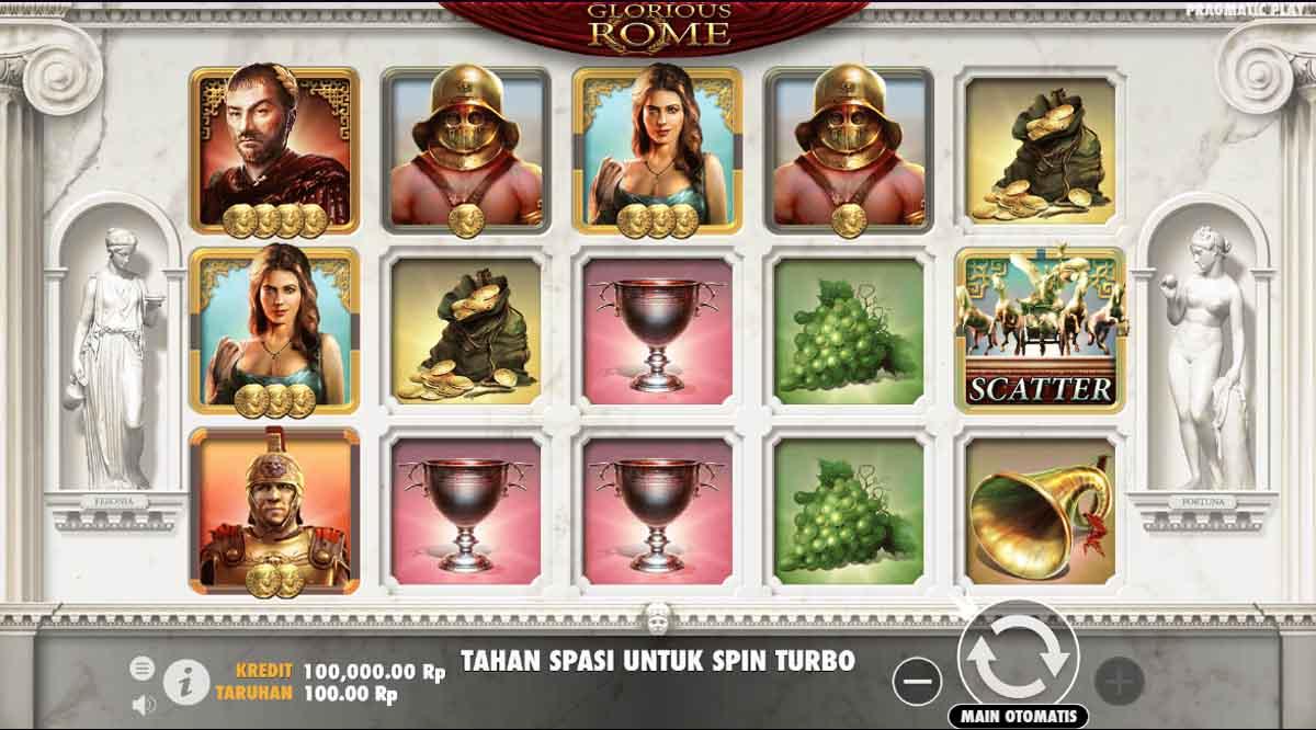 Glorious Rome - Slotpragmatic