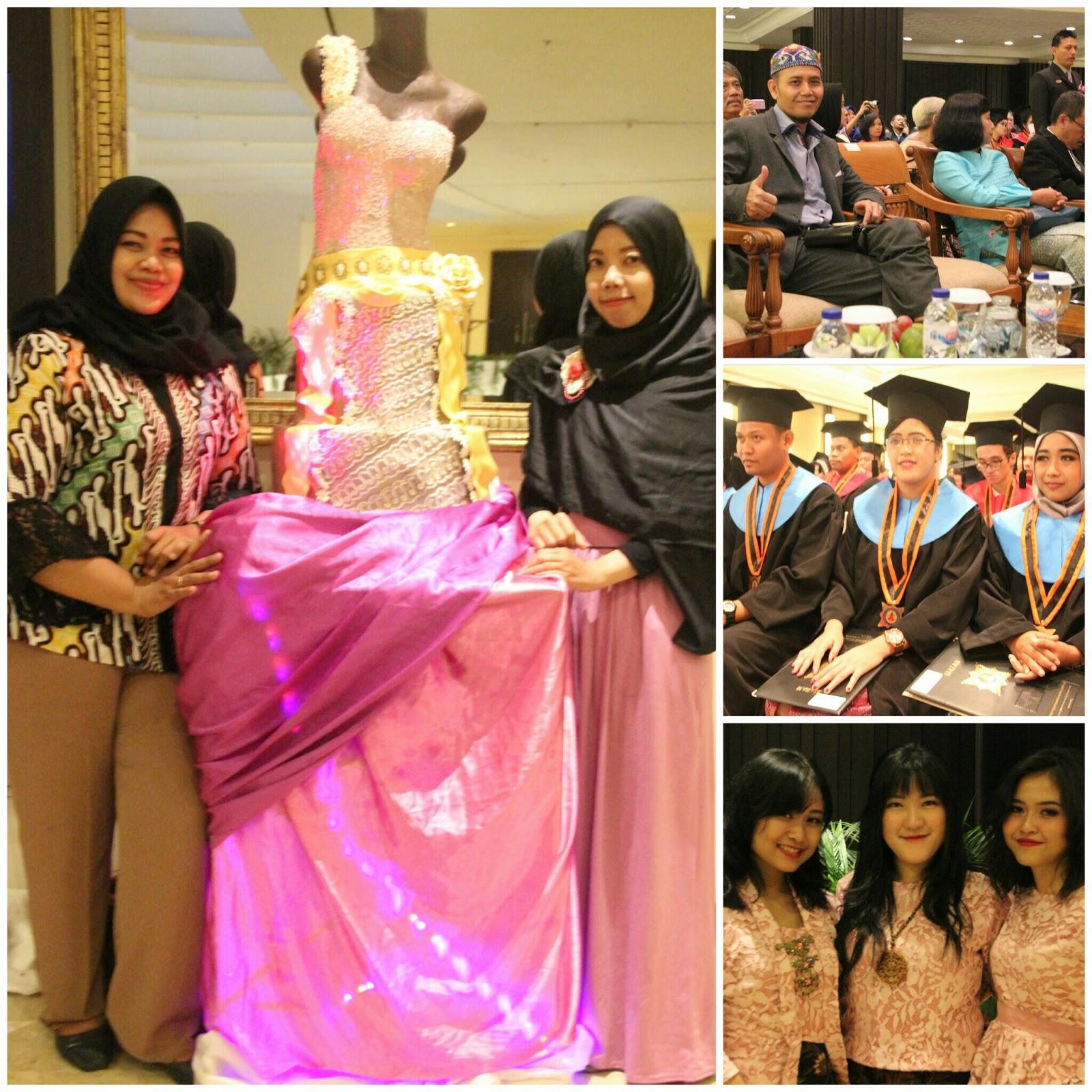 Demi Memikat Tamu Akpar Majapahit Display Kebaya Wedding Cake