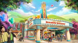 El CapiTOON Theatre Concept Art Disneyland