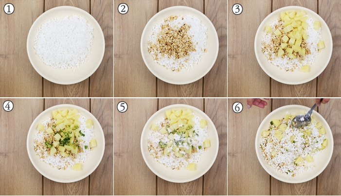 step by step instructions for sabudana khichdi recipe