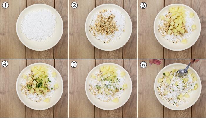 step by step instructions for sabudana khichdi recipe