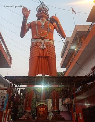 54 feet high Hanuman ji temple Jhusi Allahabad - 54 फीट ऊंचे हनुमान जी का मंदिर  झूसी इलाहाबाद
