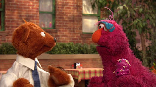 Sesame Street Episode 4304 Baby Bear Comes Clean, baby bear, telly