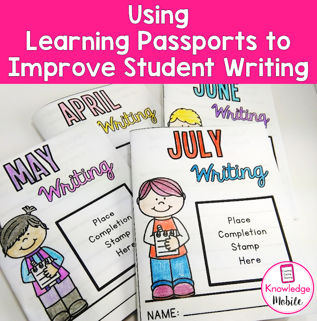Learn how to use Learning Passports to improve your student's writing PLUS A FREEBIE!!!