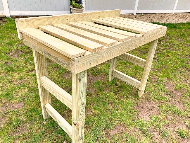 Tutorial for Weekend Potting Bench