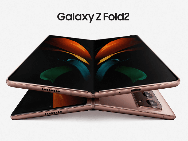 Samsung Galaxy Z Fold2 with SD 865+ and 120Hz displays now official!