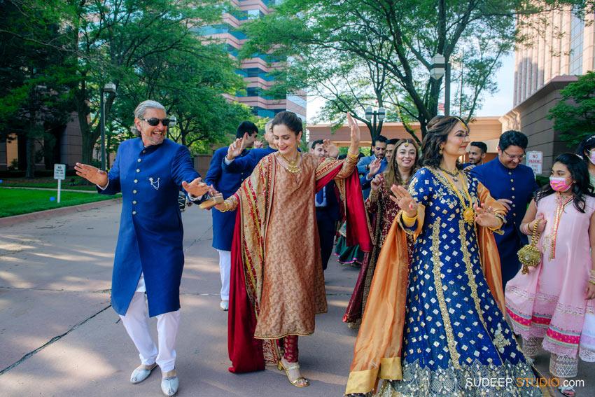 Baraat Pakistani Wedding Shaadi Nikah Photography at Henry Ford by SudeepStudio.com Ann Arbor South Asian Muslim Wedding Photographer