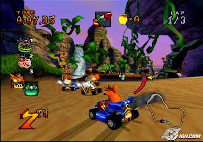 تحميل لعبة crash nitro kart من ميديا فاير
