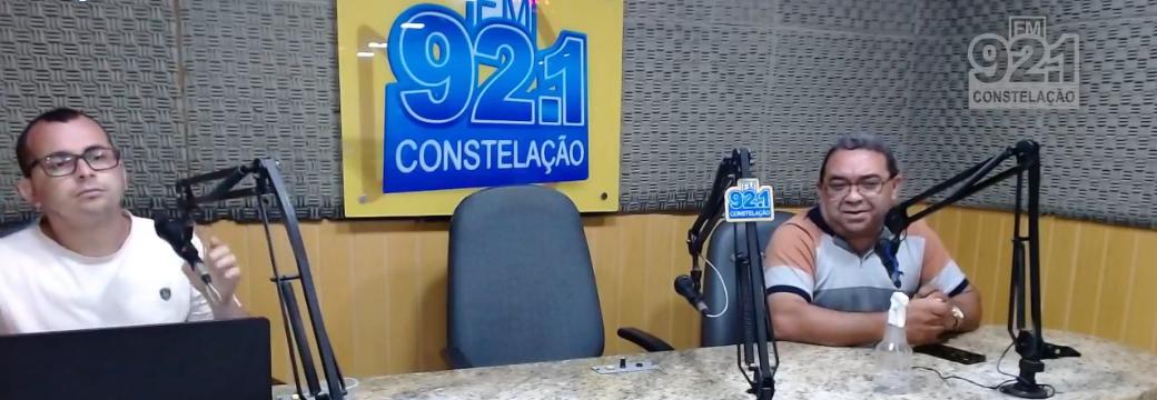 ASSISTA! Entrevista do vereador Nal Fernandes no programa Paraíba Agora (Constelação FM)