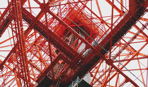 Stairs Tokyo Tower