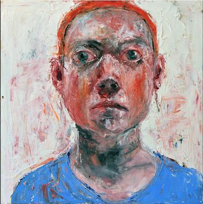 Blue Top Orange Hairband (2017), Shani Rhys James