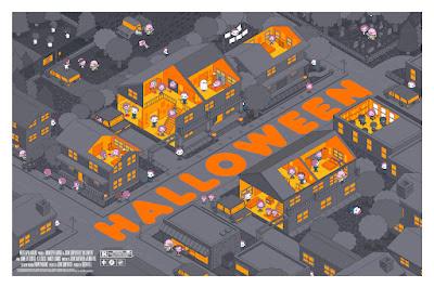 San Diego Comic-Con 2021 Exclusive Halloween Screen Print by 100% Soft x Mondo