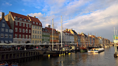 View of Nyhavn.