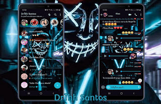 Anonymous Theme For YOWhatsApp & Fouad WhatsApp By Driih Santos