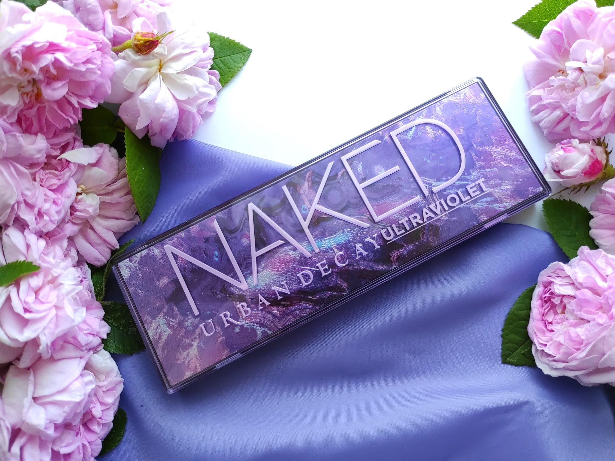 Fioletowa paleta cieni Naked