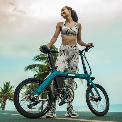 FIIDO D11 a nova bicicleta eléctrica dobrável que pode ir até aos 100km de autonomia