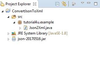 ProjectStructureConvertJsonToXml