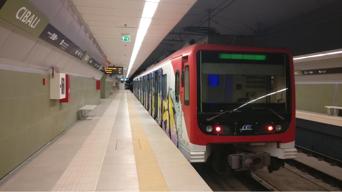 Integrazione metro bus Stazione metropolitana Cibali Catania linee autobus Catania Cibali
