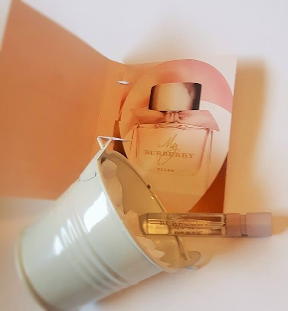 Free Sample in the mail of My Burberry Blush