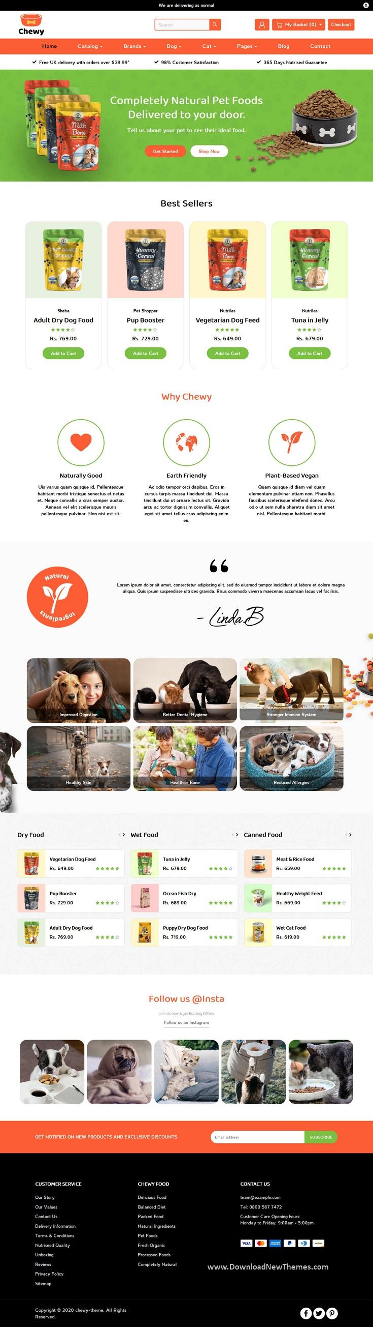 Pet Shop Shopify Theme