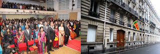 Embassy of Sri Lanka in Paris celebrates 69th Anniversary of the Independence Day