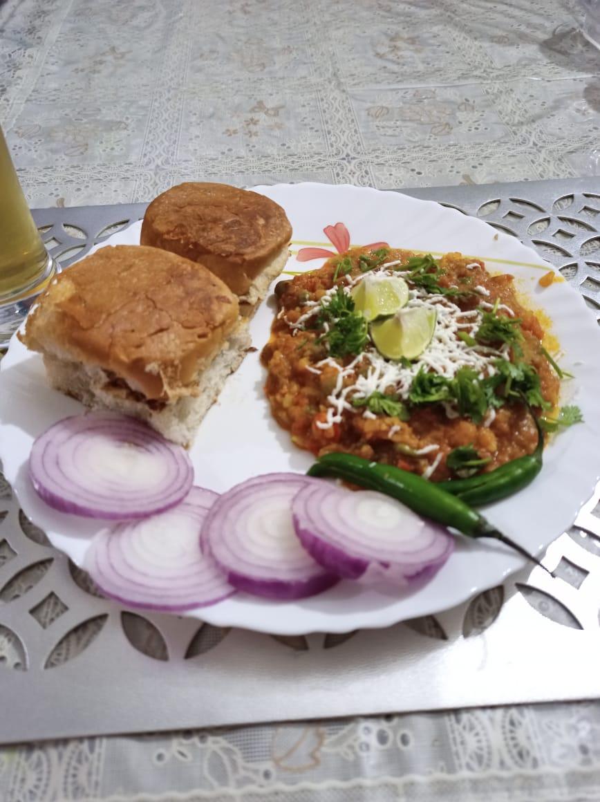 pavbhaji recipe