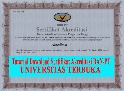 download sertifikat akreditasi ut