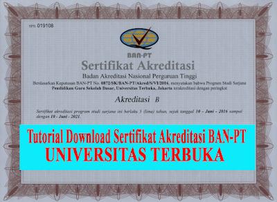download sertifikat akreditasi ut syarat cpns 2019 2020
